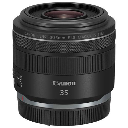 Canon RF 35mm f/1.8 Macro IS STM Lens - Black 2973C002