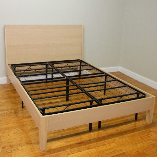 Livearty 14 Inch Queen Size Mattress Foundation Platform Bed Frame