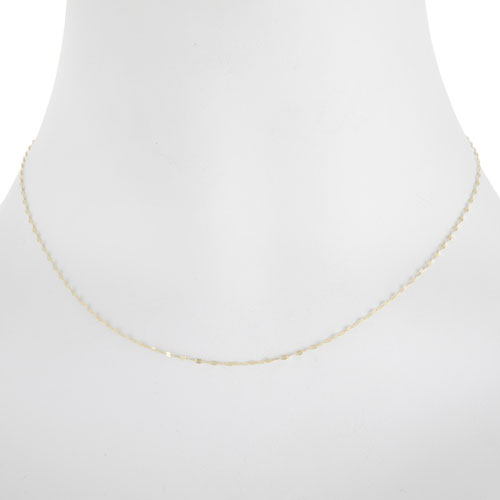 """20"""" 10K Yellow Gold Fancy Necklace"""