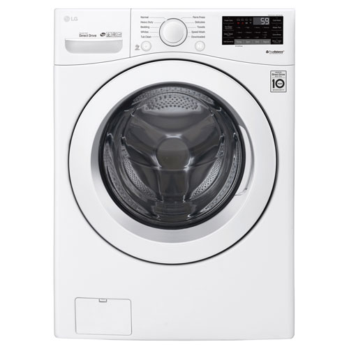 LG 5.2 Cu. Ft. High Efficiency Front Load Washer - White