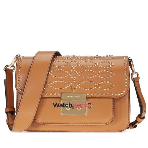 95914c6b82 Michael Kors Sloan Studded Leather Shoulder Bag - Acorn   Shoulder Bags -  Best Buy Canada