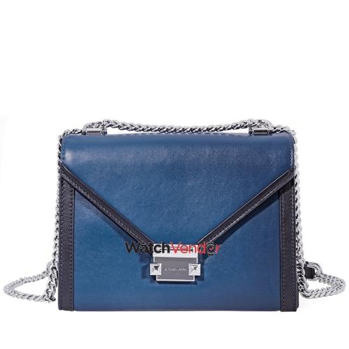 50039645e1c Michael Kors Whitney Large Shoulder Bag- Blue Black   Shoulder Bags - Best  Buy Canada