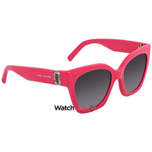 0e482faf1f Marc Jacobs Dark Gray Gradient Square Ladies Sunglasses MARC 182 S 0MU1 9O  52   Sunglasses - Best Buy Canada