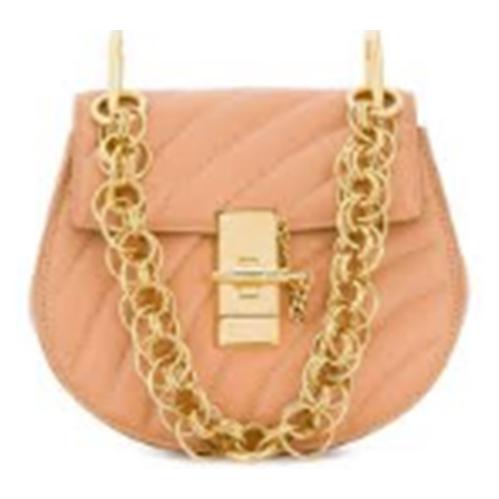 1b31f1865b2 Chloe Mini Drew Bijou Quilted Leather Bag- Blushy Pink   Wristlets - Best  Buy Canada