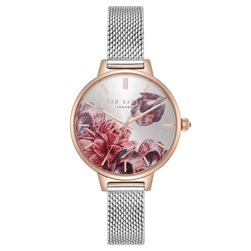 8f8c96d67 Ted Baker Kate Women s 32mm Rose Gold Case Stainless Steel Mesh Bracelet  Watch