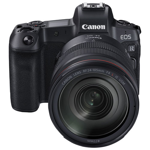 Canon EOS R Mirrorless Camera with 24-105mm IS USM Lens Kit