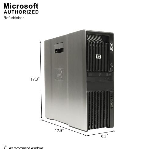 HP Z600 GAMING WS,Intel (6)Core XEON X5650 2 66G,12G RAM,256G SSD+