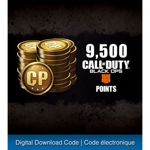 Call Of Duty Black Ops 4 9500 COD Points PS4