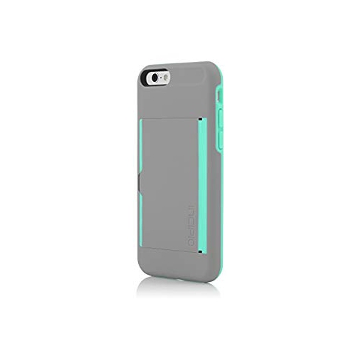 new style 8233f d6e17 Incipio Stowaway Case for iPhone 6 -Dark Gray Teal -IPH-1185-GRYTEAL