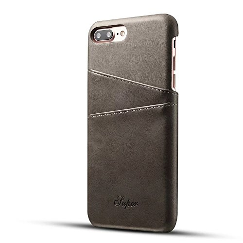 Iphone 7 Plus Case Tacoo Premium Pu Leather With Card Holder Function Back Durable Protective Cover Phone Card Cases For Ap Best Buy Canada