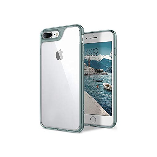 Caseology Waterfall Series Iphone 8 Plus Iphone 7 Plus Case Transparent Minimal Mint Green Best Buy Canada