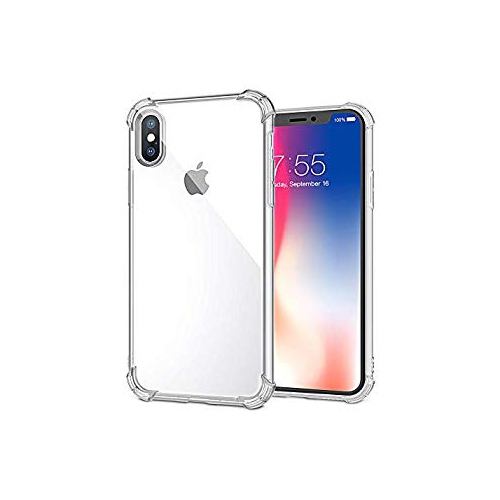 info for 3409e 61708 Xawy Phone Case Compatible iPhone Xs Max Case, Slim Clear Soft TPU Cover  Crystal Clear Cases Non-Slip [Support Wireless Chargi