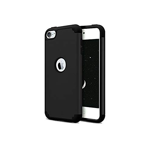 on sale b04d3 188f9 iPod Touch 5th & iPod Touch 6th Generation Case,Dailylux iPod Touch 6 Cases  Slim Dual Layer Protective Case for Girls Boys