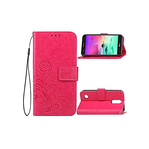 LG K4 2017 Case,B1ST LG K8 2017 Wallet Case,LG Phoenix 3 Case, LG Fortune,  LG MS210,LG Aristo, LG Risio 2, LG Rebel 2 Case Fol