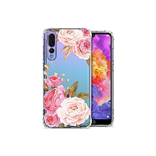 Floral Clear Huawei P20 Pro Case for Women Girls 0e86a0c6be