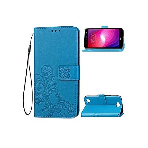 hot sale online 7fea6 65e24 LG X Power 2 Case - B1ST LG V7 Wallet Case, LG K10 Power Case Folio Wallet  [Credit Card Slot] [Synthetic Leather Kickstand Fli