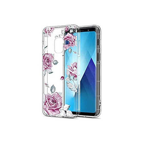 Floral Clear Galaxy A8 Case for Women Girls 6801e0931a