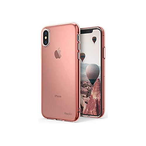 new products f7a6c 81a76 Ringke [AIR] Case Compatible with iPhone X, [Qi Wireless Charging  Compatible] Weightless as Air Lightweight Transparent Soft F - Online Only