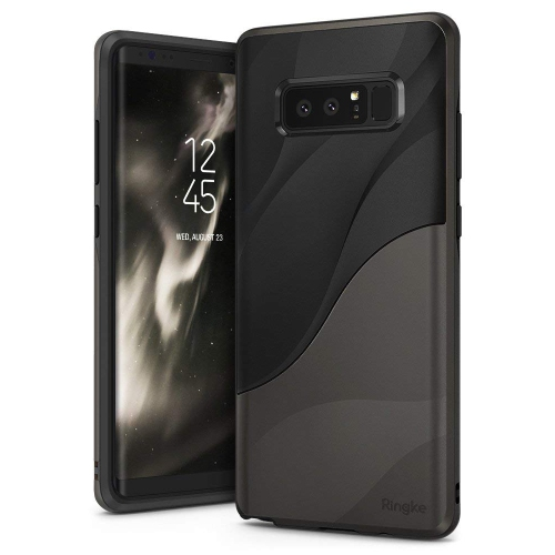 hot sale online f5bbc 0d133 Ringke [Wave] Compatible Galaxy Note 8 Case, Dual Layer Heavy Duty 3D  Textured Shock Absorbent PC TPU Full-Body Drop Resistant