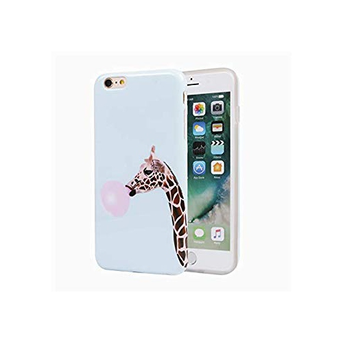 Iphone 6s Plus Case Cute Design Slim Fit Glossy Tpu Soft Rubber