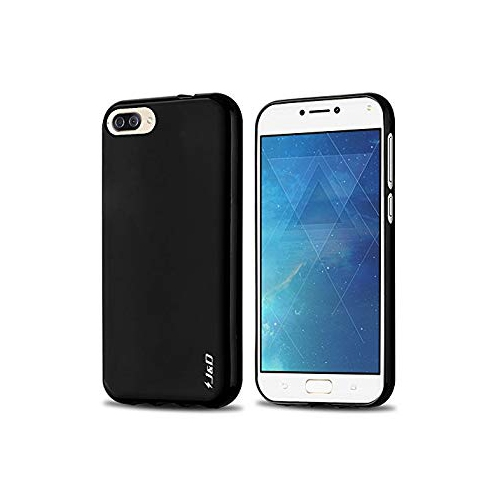 check out 0f537 f865f ZenFone 4 Max Case, J&D [Drop Protection] [Slim Cushion] [Lightweight  Bumper] Shock Resistant Protective TPU Slim Case for