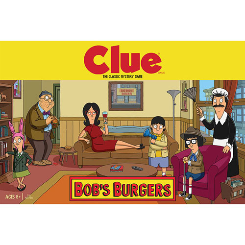 Clue: Bob's Burgers Edition Board Game - English