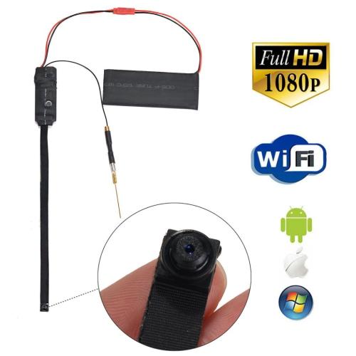 Mini Dv Full Hd 1080p Spy Camera Diy Module Ip Camera Wifi Remote Monitor Nanny Cam Dvr