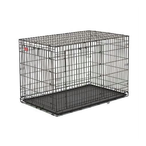 new product c2782 20e81 Midwest Life Stage A.c.e. Double Door Dog Crate Black 23\