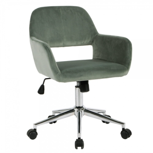 Strange Zf Collections Ruhle Armed Swivel Office Chair Cactus Caraccident5 Cool Chair Designs And Ideas Caraccident5Info
