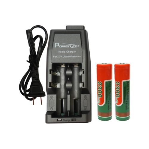 Li Ion Charger 2 Slot 2 X 18650 36v Li Ion Button Top Batteries