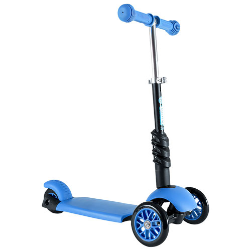 666ce90816cb7 Yvolution Y Glider 3 in 1 Scooter - Blue   Kick Scooters - Best Buy Canada
