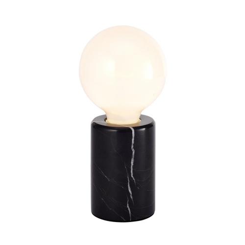 Black Marble Lamp