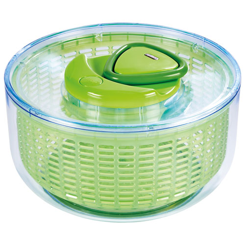 Zyliss Easy Spin Salad Spinner - Green