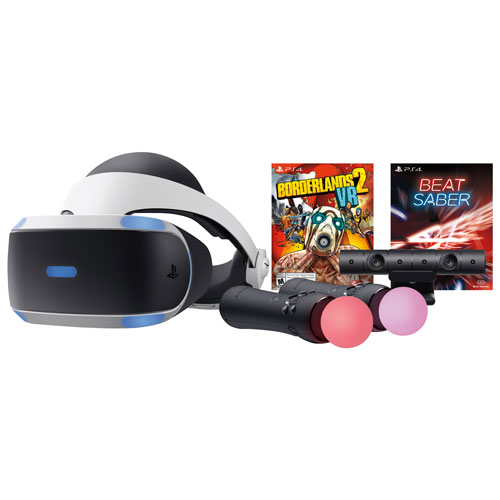 0d6e285d283 PlayStation VR Borderlands 2   Beat Saber Bundle   Virtual Reality Headsets  - Best Buy Canada
