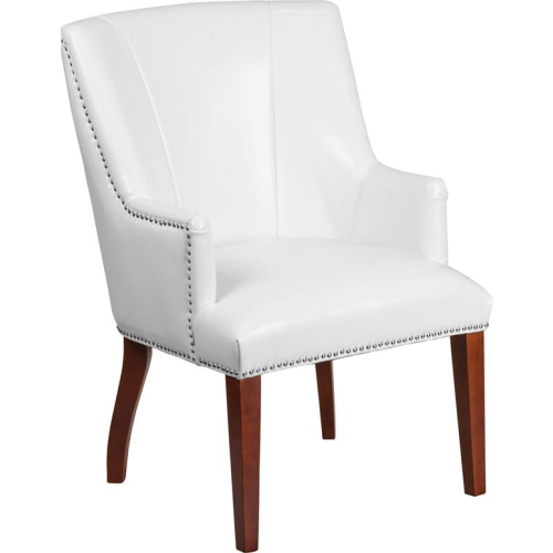 White Leather Side Chair More Living Room Chairs Best Buy Canada