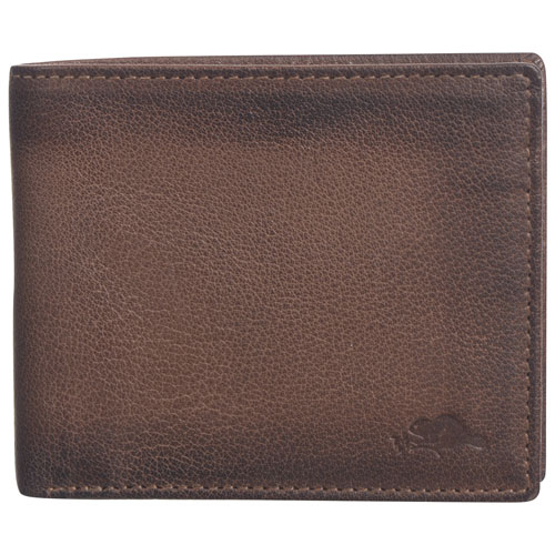 Roots 73 Max RFID Leather Bi-fold Wallet - Natural Brown   Wallets - Best  Buy Canada d282715efd4d