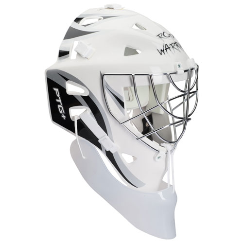 Road Warrior Ptg Street Hockey Goalie Mask With Throat Protector