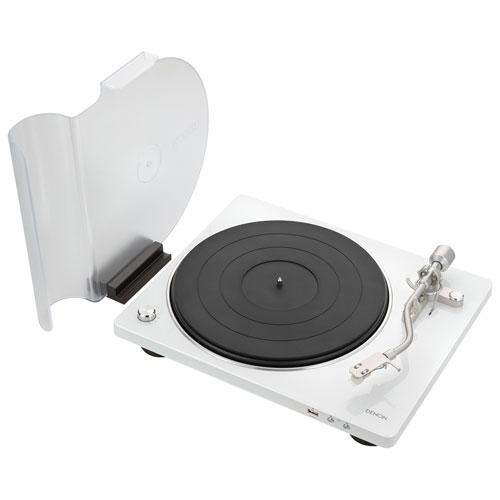 Tourne-disque Hi-Fi à courroie DP-450USB de Denon