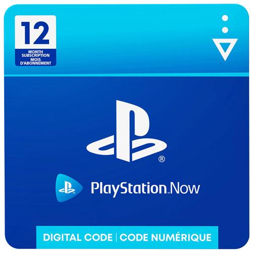 Abonnement de 12 mois à PlayStation Now - Téléchargement numérique