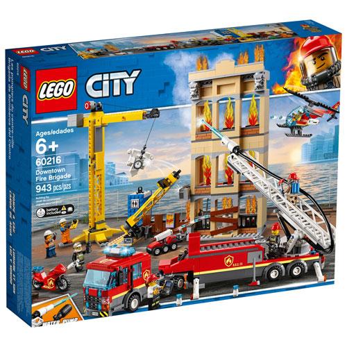 LEGO City: Downtown Fire Brigade - 943 Pieces