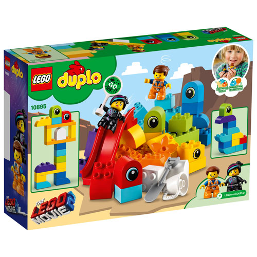 Lego Duplo Lego Movie 2 Emmet And Lucy S Visitors 53 Pieces 10895 Best Buy Canada