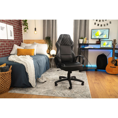 Peachy Z Line Designs Zld Performance Series Ergonomic Gaming Chair Black Grey Squirreltailoven Fun Painted Chair Ideas Images Squirreltailovenorg