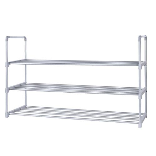 "3-Tier Shoe Rack 18 Pairs Shoe Storage Organizer Unit, 35"" L x 11.6"" W x 20.87"" H"