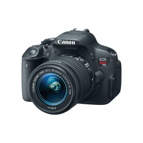 Canon EOS Rebel T5i/700D DSLR Camera with EF-S 18-55mm f/3.5-5.6 IS STM Lens