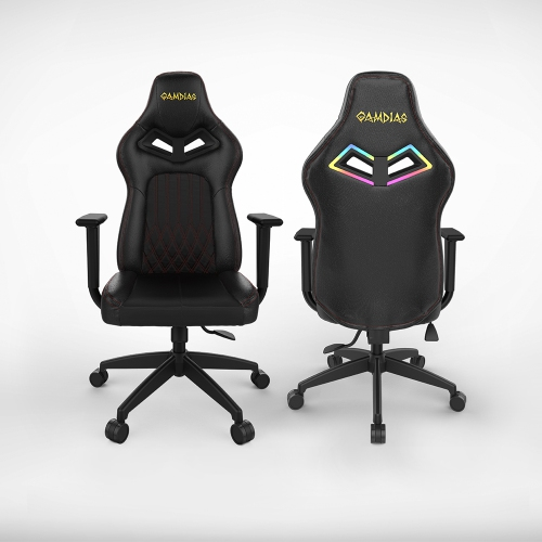 Super Gamdias Gaming Chair Achilles E3 Rgb Backlighting Black With Red Thread Alphanode Cool Chair Designs And Ideas Alphanodeonline