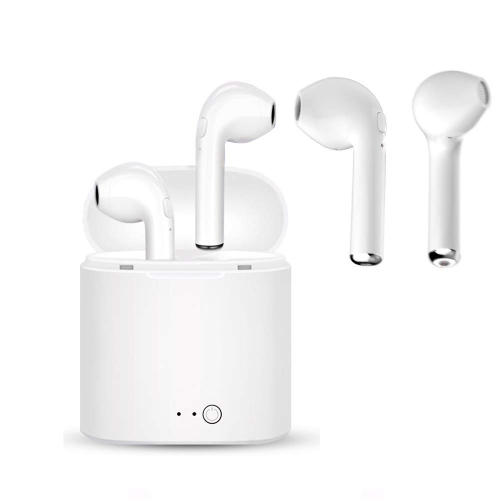 7f92eb0444c Bluetooth Headset,i7 Wireless Earbuds with Charging Case Mini in-Ear Headphones  Earphone with Mic, Hands Free for iPhone X 8 8 | Best Buy Canada
