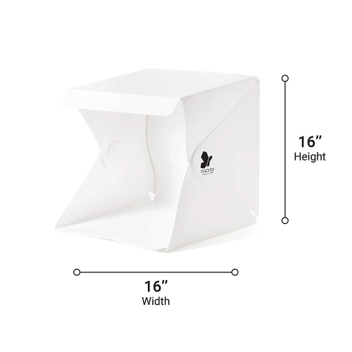 Glo3d Lb40 Foldable Photo Studio Lightbox Strobe Lighting