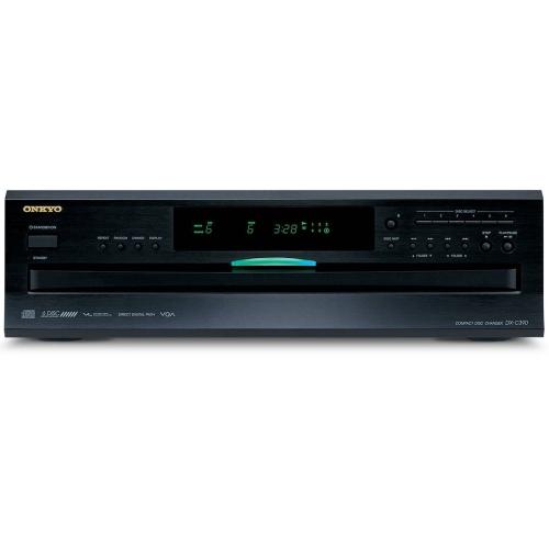 Onkyo DX-C390 6-Disc Carousel CD Player w/ Multi-bit DAC