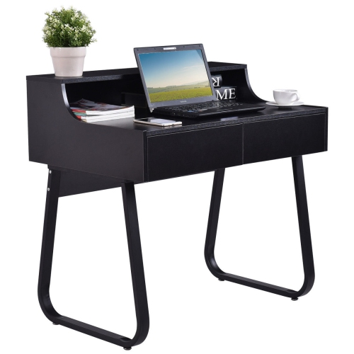 4048e7eca9b7c Costway Computer Desk PC Laptop Study Writing Table Workstation w  2  Drawers - Online Only