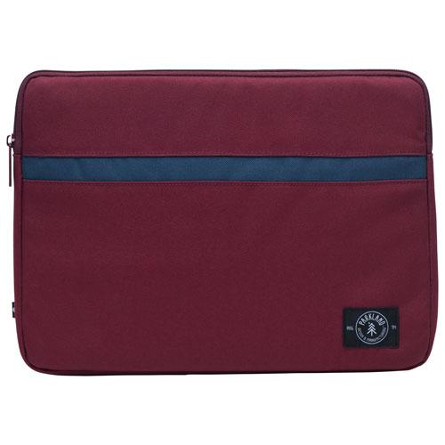 "Parkland Pilot 15.6"" Laptop Sleeve - Maroon Navy Stripe - Only at Best Buy"